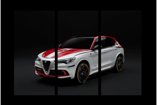 Модульная картина Alfa Romeo