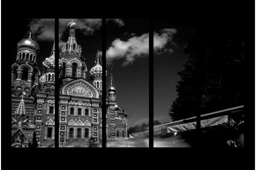 Модульная картина Собор Петербурга